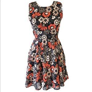 Maison Jules retro print dress